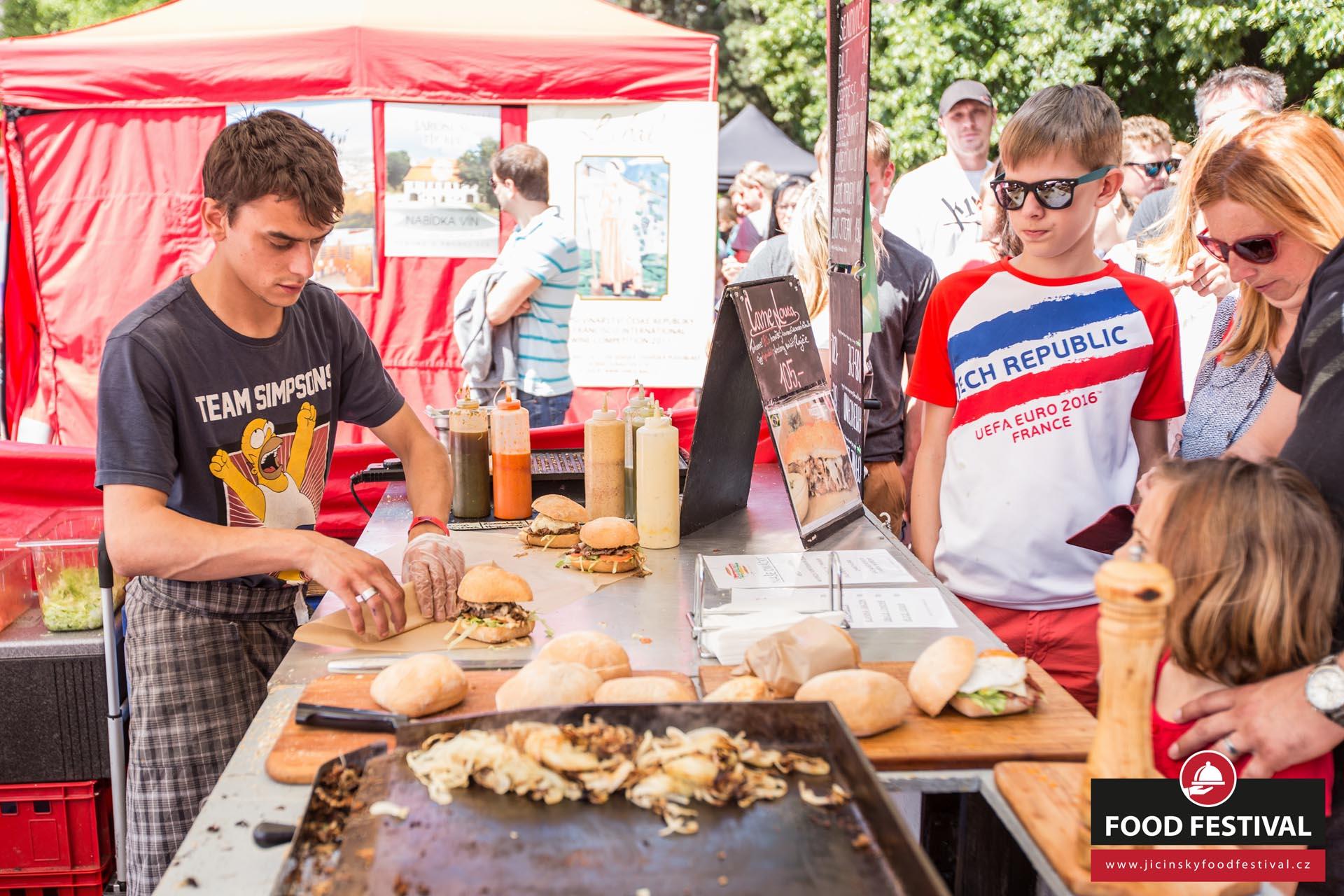 Jičínský Food Festival 2016