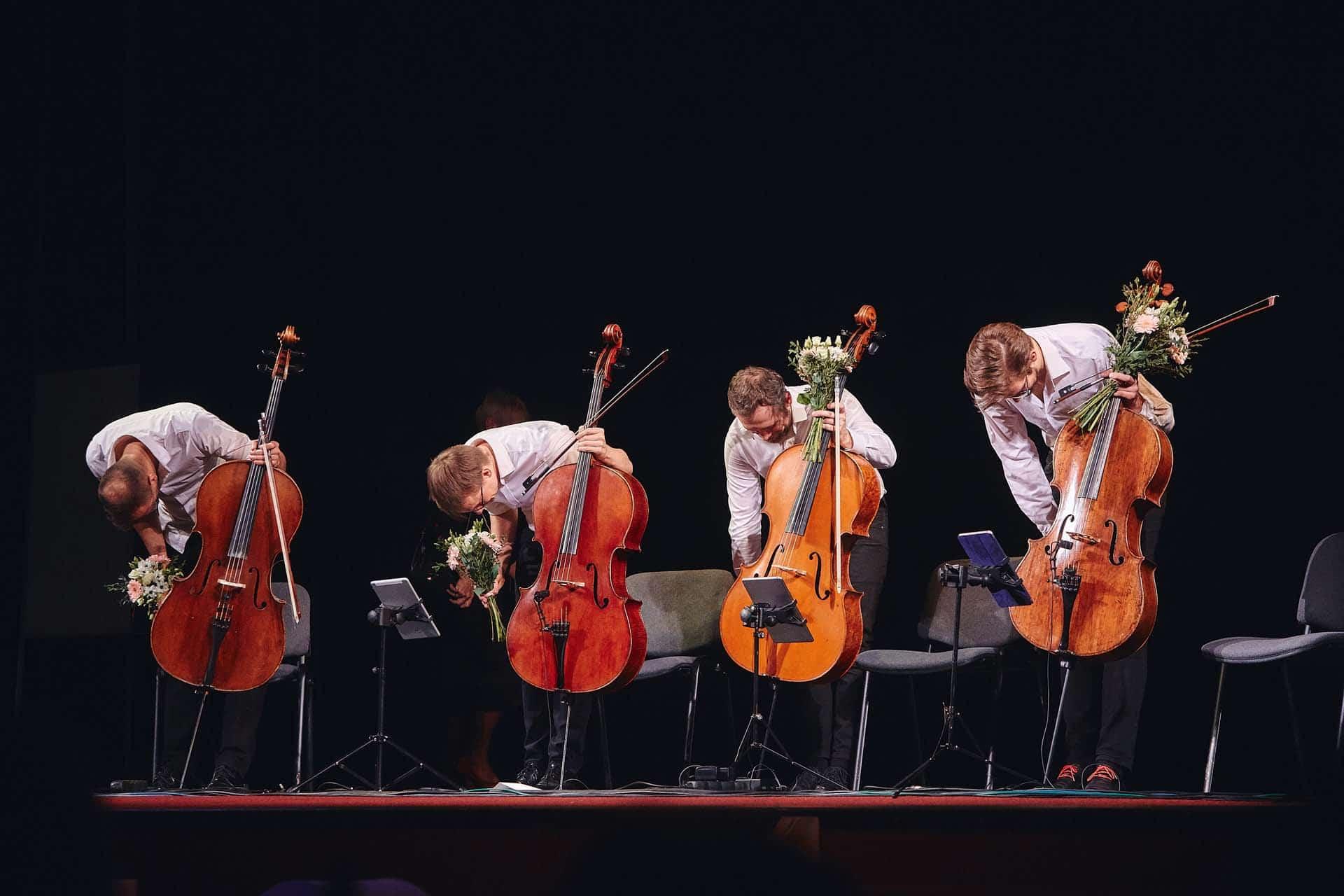 Prague Cello Quartet - Jičín 2019