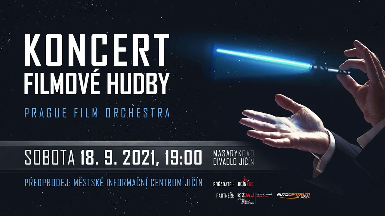 Koncert Filmové hudby - Jičín 2021