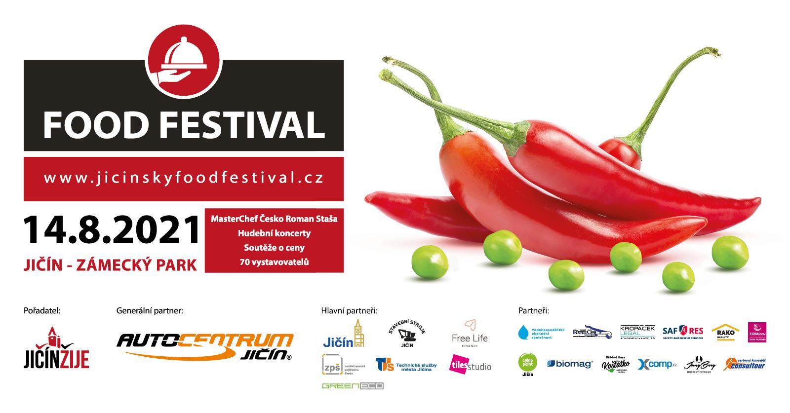 Jičínský Food Festival - 14.8.2021